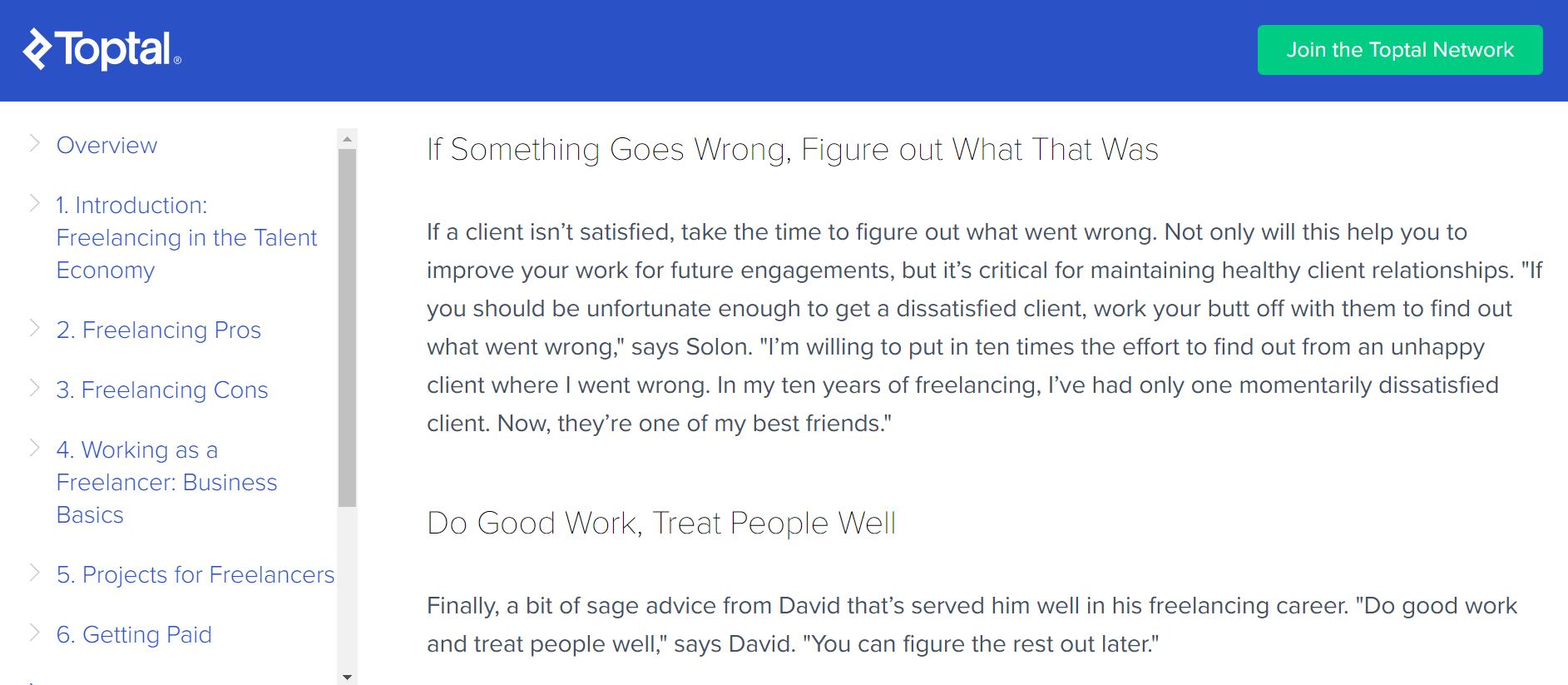 freelance-success-client management