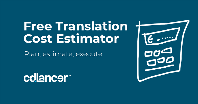 Free cost estimate tool for translation services_cdlancer